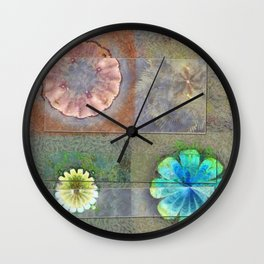 Fast Actuality Flower  ID:16165-084338-75791 Wall Clock
