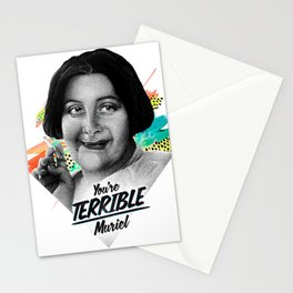 TERRIBLE Stationery Cards