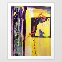 Acrylic Transfer 1 Art Print