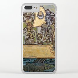 THE ARK OF LIFE JOURNEY Clear iPhone Case