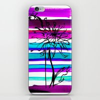 dahlia iPhone & iPod Skins featuring DAHLIA by Emine Ortega