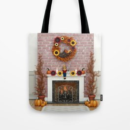Harvest Hearth Tote Bag