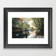 View from Hannah Park Framed Art Print