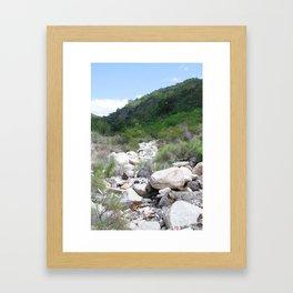 holy jim trail Framed Art Print