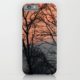 Sunset at the Heide. iPhone Case