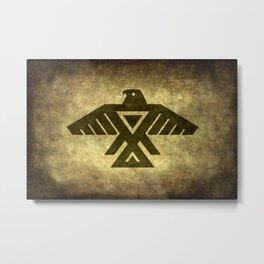 Thunderbird doodem Metal Print