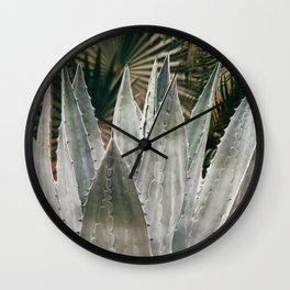 Deep Agave Wall Clock