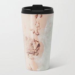 beach - pink champagne Travel Mug