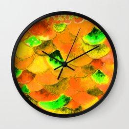 Orang Fish Wall Clock
