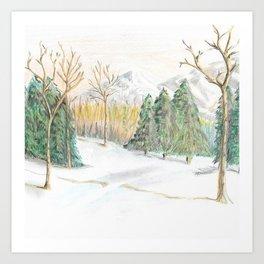 Winter Still Art Print