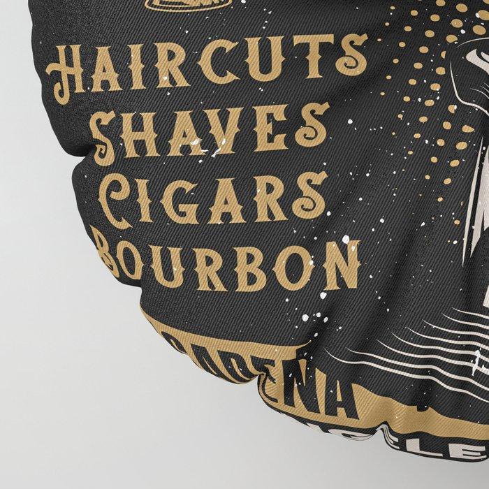 Gentlemen's Barber Shop LA Floor Pillow