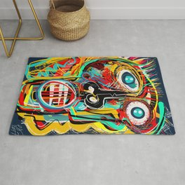 The Scream Street Art Graffiti Rug