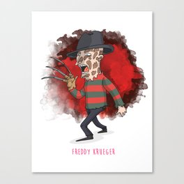 26 - Freddy krueger Canvas Print