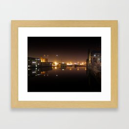 Reflections I - Grand Canal Dock Framed Art Print