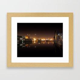 Reflections I - Grand Canal Dock Framed Art Print