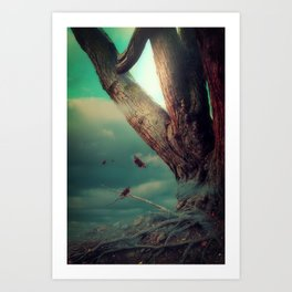 Dark Enchantment Art Print