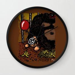 La cage du gorille Wall Clock