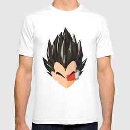 Vegeta Simplistic Face T-shirt