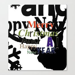 My Happy Christmas! Canvas Print