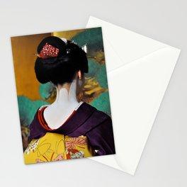 Geisha Maiko II Stationery Cards