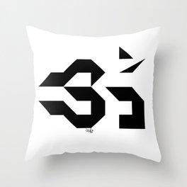 OM - Sweet Vibrations Throw Pillow