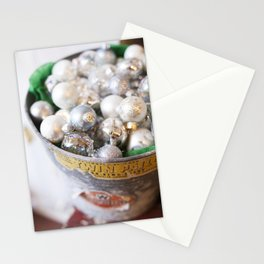 Christmas Ornaments Stationery Cards