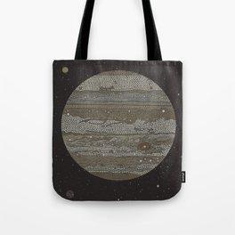 Jupiter (and selected Moons) Tote Bag