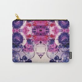 Wine & Flowers Photographic Pattern #1 Carry-All Pouch