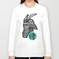 samurai Long Sleeve T-shirts featuring Samurai by  Steve Wade ( Swade)