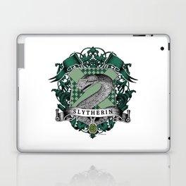 Slytherin Color Crest Laptop & iPad Skin
