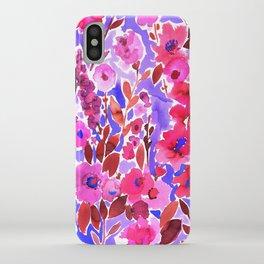 Isla Floral Purple iPhone Case
