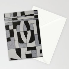Silver Map Stationery Cards