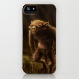 Pequenino & the Father Trees iPhone Case