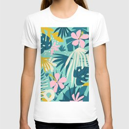 Not All Those Who Wander Are Lost #painting #tropical T-shirt