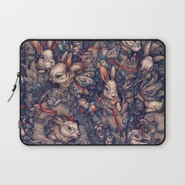 Bunnerflies Laptop Sleeve