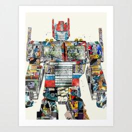 modern prime Art Print