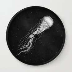 Space Jelly  Wall Clock