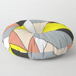 Geometric Art Design Floor Pillow