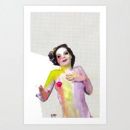 Romy Art Print
