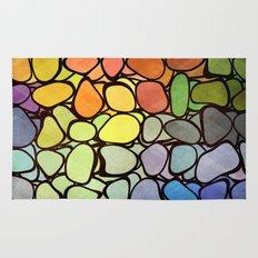 Rainbow Stones Rug