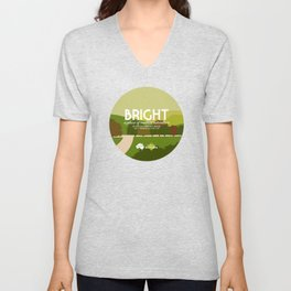 Do Not Visit Bright Unisex V-Neck