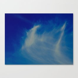 Whispy cloud Canvas Print