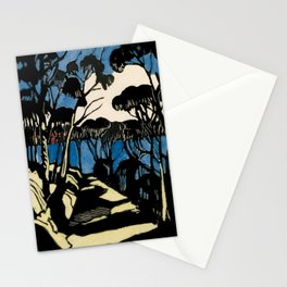 """""""Harbour Foreshore"""" by Margaret Preston Stationery Cards"""