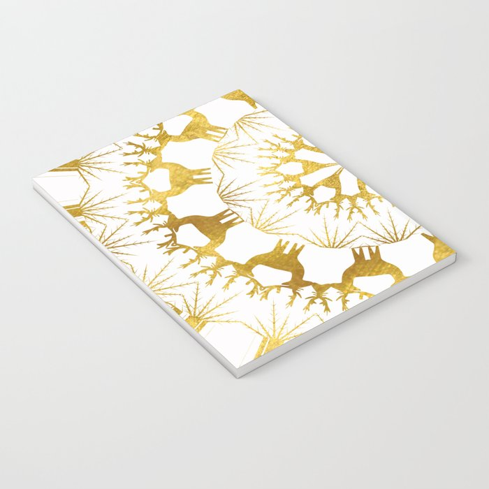 Gold Christmas 05 Notebook