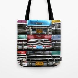 Cuba Car Grilles - Horizontal Tote Bag