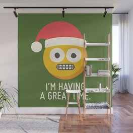 White Knuckle Christmas Wall Mural