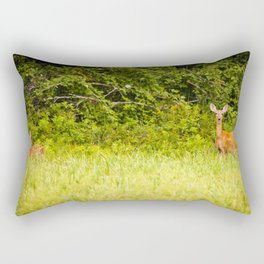 Oh, Deer!  Rectangular Pillow