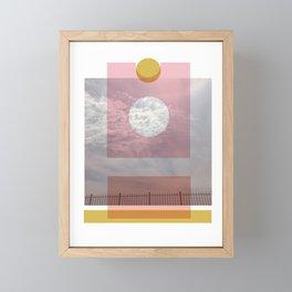 LB Collage 1 Framed Mini Art Print