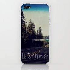 Let's Run Away IV iPhone & iPod Skin