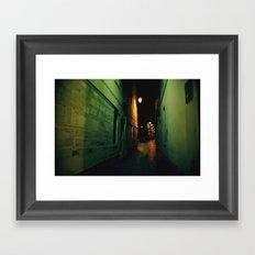 Darkway Framed Art Print